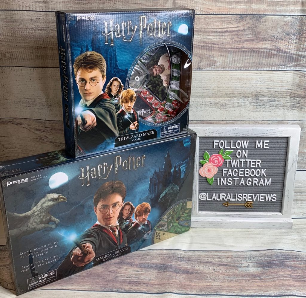 Harry Potter Triwizard Maze Game & Harry Potter Magical Beasts Board Game