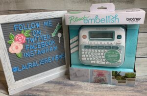 Giveaway! P-touch Embellish Ribbon and Tape Printer