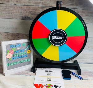 Reversible Round 'N Round Prize Wheel is 2 prize wheels in one!2